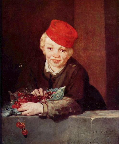 The Boy with Cherries, 1859 - Edouard Manet
