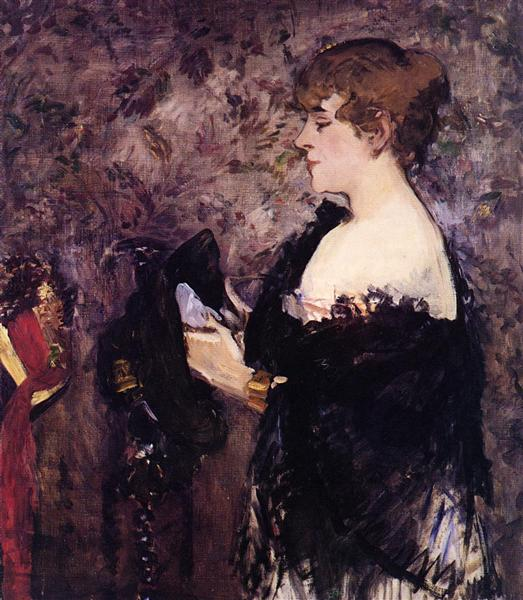 The Milliner, 1881 - Edouard Manet