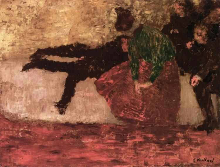 After the Ball, 1893 - Edouard Vuillard