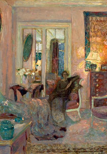 Princess Bibesco (Marthe Lahovary), 1920 - Edouard Vuillard