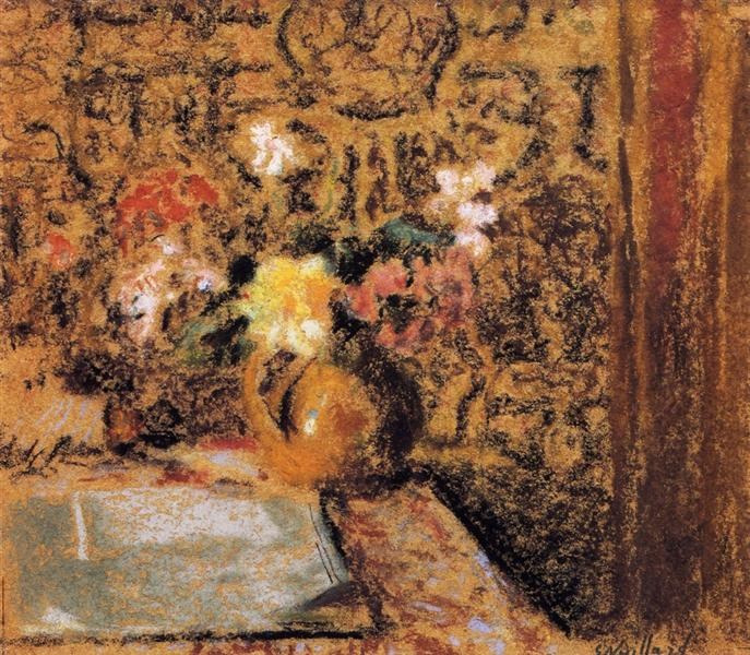 Still Life with Flowers, 1921 - Edouard Vuillard