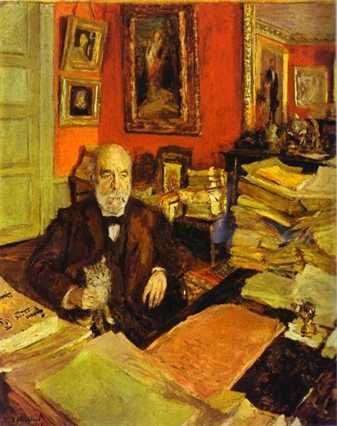 Theodore Duret, 1912 - Edouard Vuillard