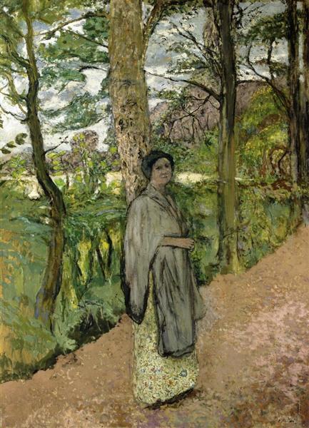 Woman in Grey in a Lane, 1913 - Edouard Vuillard