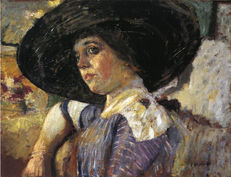 Woman with Hat, 1912 - Edouard Vuillard