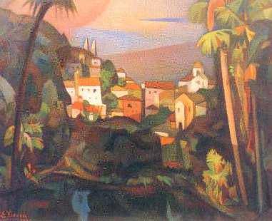 Paisagem de Sintra - Eduardo Viana