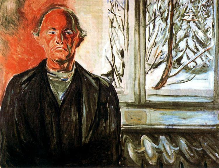 By the Window, 1940 - Edvard Munch