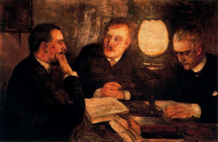 Jurisprudence, 1887 - Edvard Munch