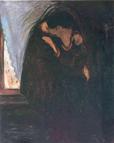 Kiss - Edvard Munch
