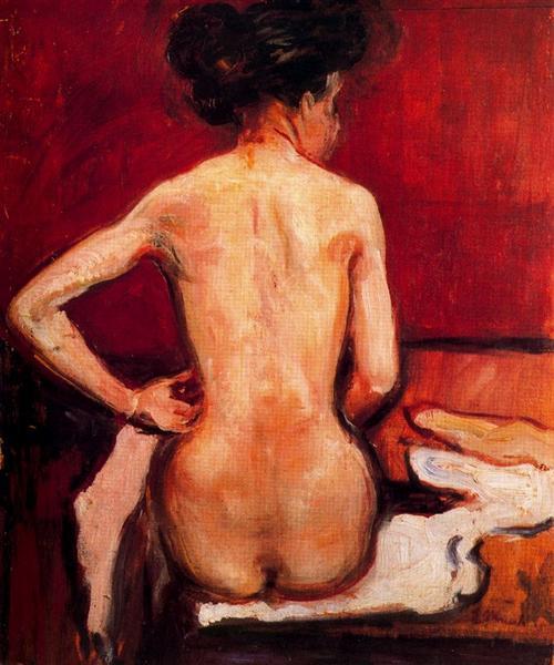 Nude, 1896 - Edvard Munch
