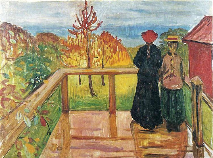 Rain, 1902 - Edvard Munch