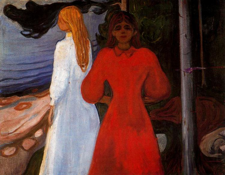 Red and White, 1899 - 1900 - Edvard Munch