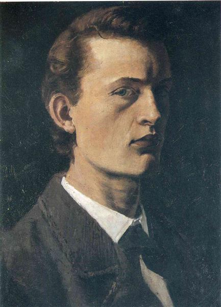 Self-Portrait, 1881 - 1882 - Edvard Munch