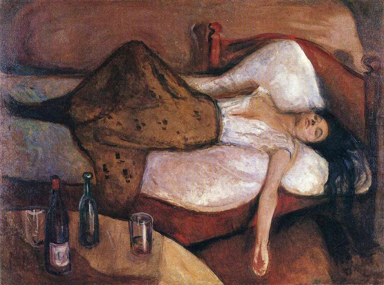 The Day After, 1894 - 1895 - Edvard Munch