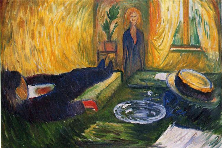 The Murderess, 1906 - Edvard Munch
