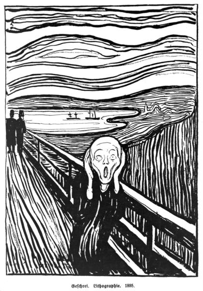 The Scream, 1895 - Edvard Munch
