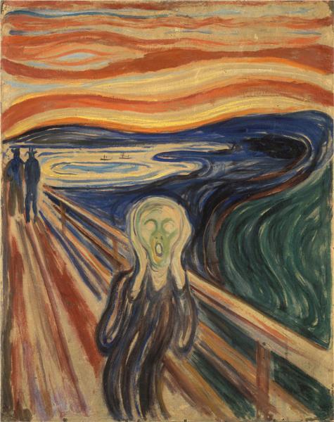 The Scream, 1910 - Edvard Munch