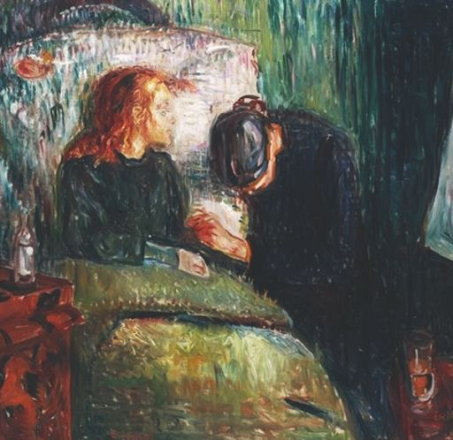 The Sick Child (later), 1907 - Edvard Munch