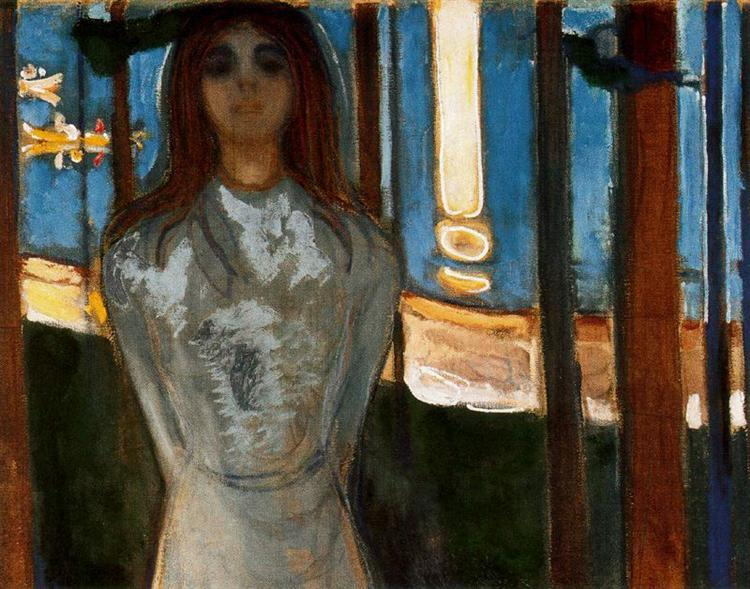 The Voice / Summer night, 1896 - Edvard Munch