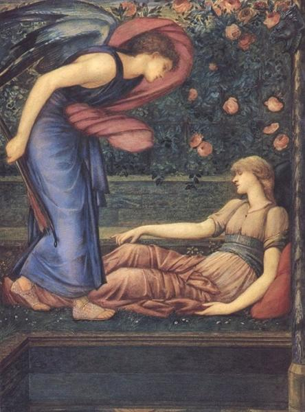 Cupid Finding Psyche, 1865 - 1867 - Edward Burne-Jones