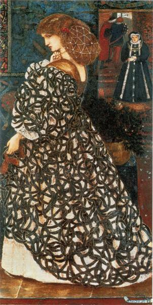 Sidonia von Bork, 1860 - Edward Burne-Jones