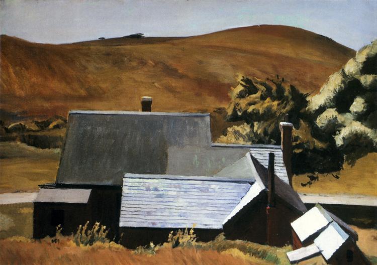 Burly Cobb's House, South Truro, 1930 - 1933 - Edward Hopper
