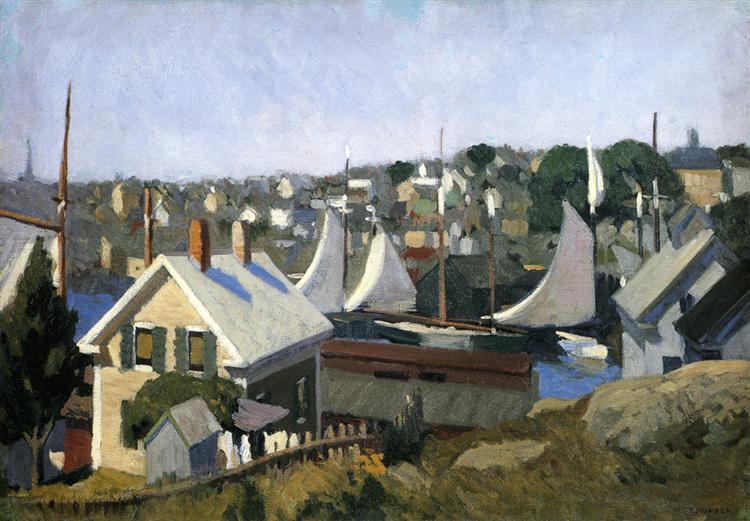 Gloucester Harbor, 1912 - Edward Hopper