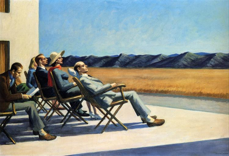 People In The Sun, 1960 - Edward Hopper