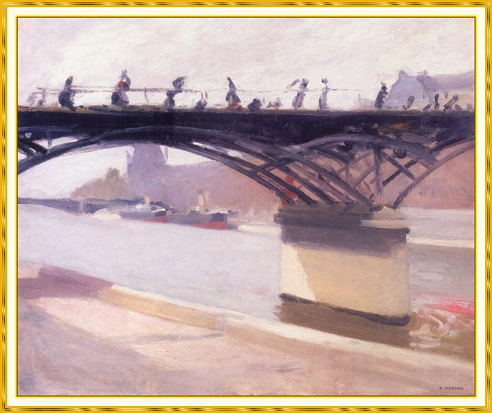 The Bridge Of Art, 1907 - Edward Hopper