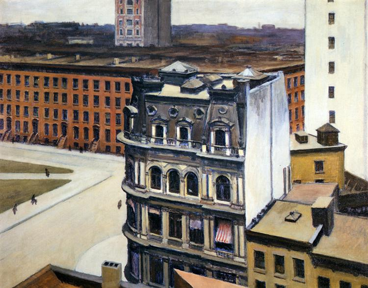 The City, 1927 - Edward Hopper