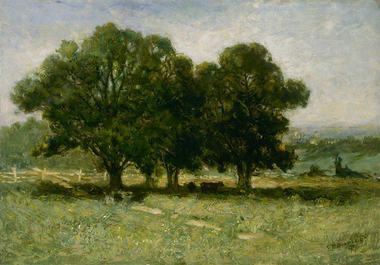 Landscape, 1889 - Edward Mitchell Bannister