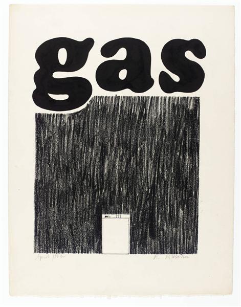Gas, 1962 - Edward Ruscha