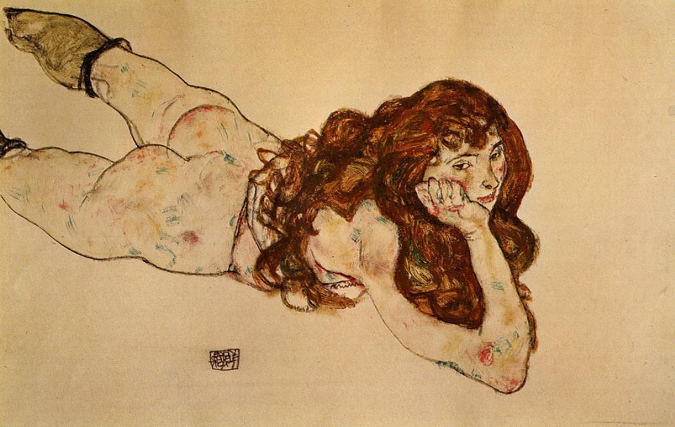http://uploads2.wikipaintings.org/images/egon-schiele/female-nude-lying-on-her-stomach-1917.jpg