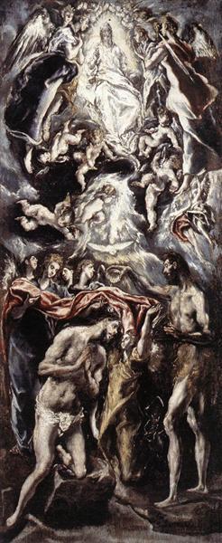 Baptism of Christ, 1597 - 1600 - El Greco