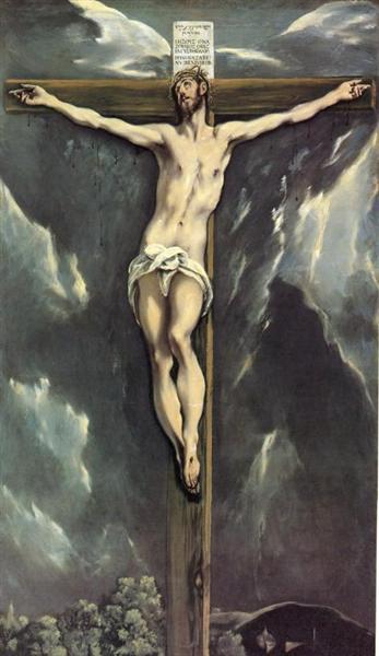 Christ on a cross, 1610 - El Greco
