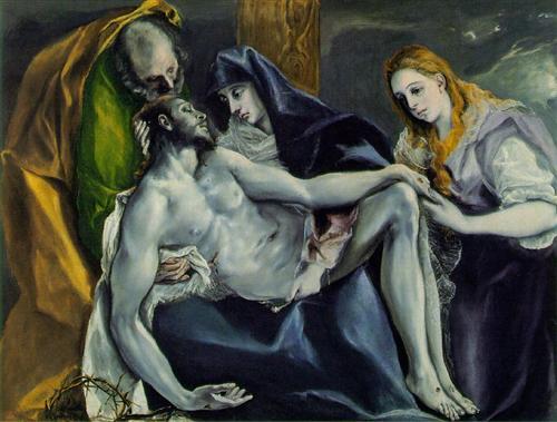 Pietà - El Greco
