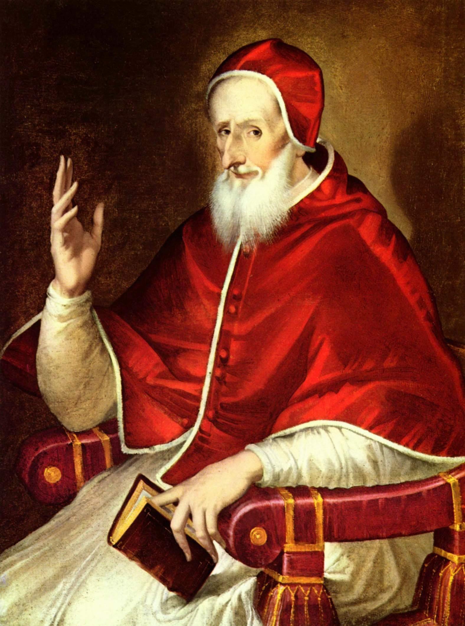 Image result for old pope portrait medieval
