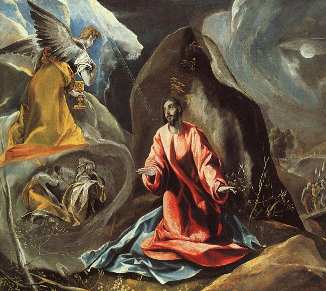 The Agony in the Garden, c.1605 - El Greco