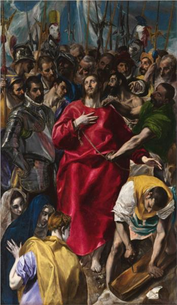 The Disrobing of Christ - El Greco