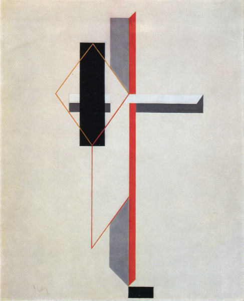 Proun, 1922 - El Lissitzky - WikiArt.org