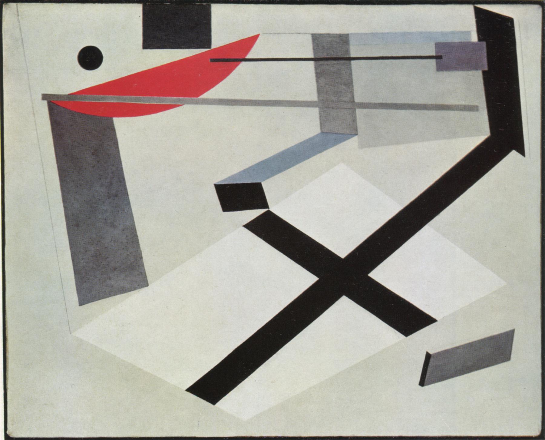 Proun 30 T - El Lissitzky - WikiArt.org