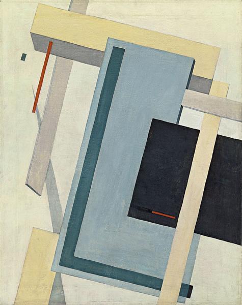Proun 4 B, c.1920 - El Lissitzky