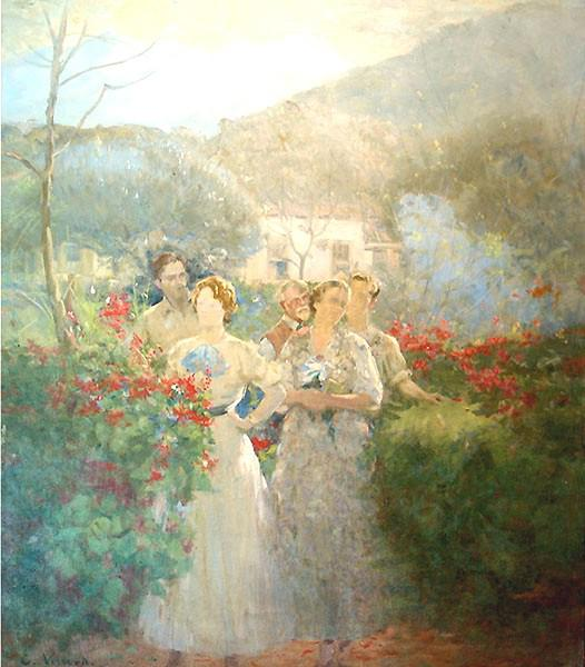 In Alameda, 1931 - Eliseu Visconti