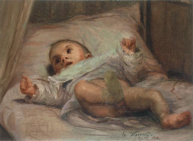 My Child Tobias at Six Months, 1910 - Eliseu Visconti
