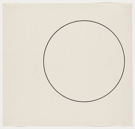 Circle Line, 1951 - Ellsworth Kelly
