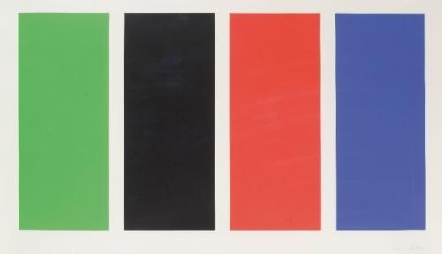 Four Panels, 1971 - Ellsworth Kelly