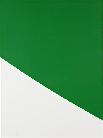 Green Curve, 2000 - Ellsworth Kelly