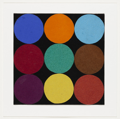 Nine Colors, 1951 - Ellsworth Kelly