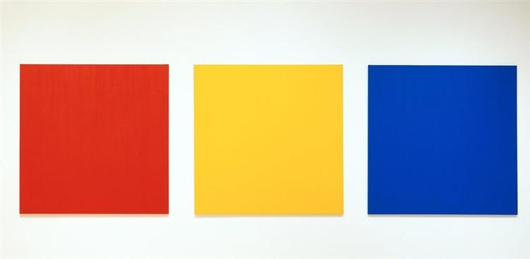 Red Yellow Blue III - Ellsworth Kelly