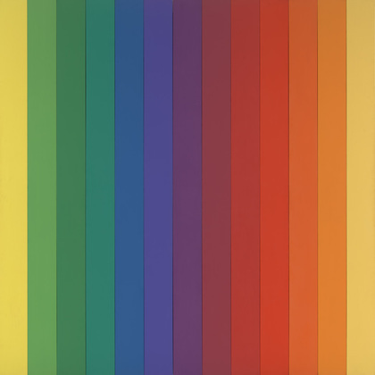 Spectrum IV, 1967 - Ellsworth Kelly