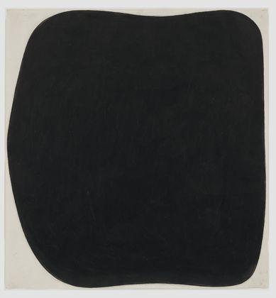 Study for Black Ripe, 1954 - Ellsworth Kelly